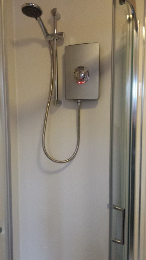 Electric Showers fitted on the wirral